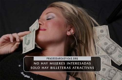 imágenes de mujeres interesadas en el dinero