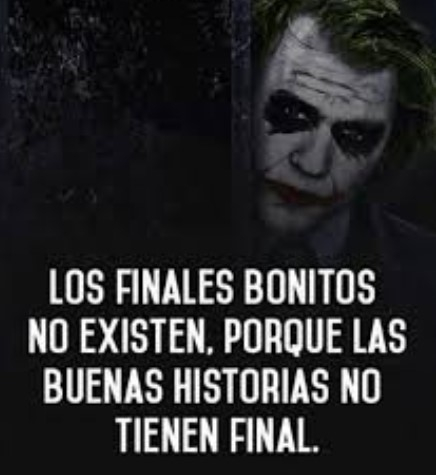 Los finales bonitos no existen